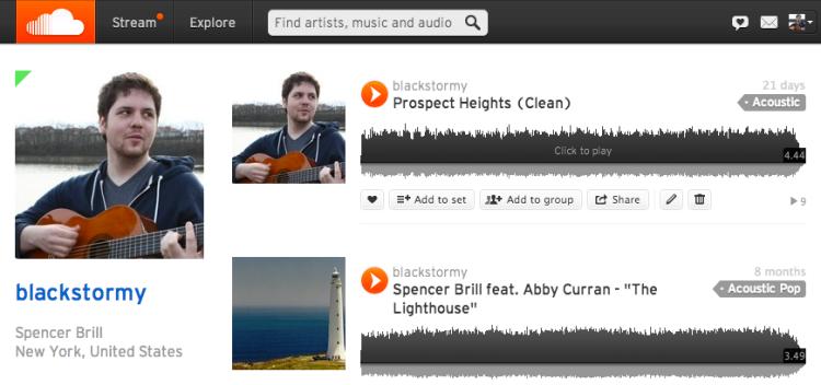 SoundCloud Spencer Brill